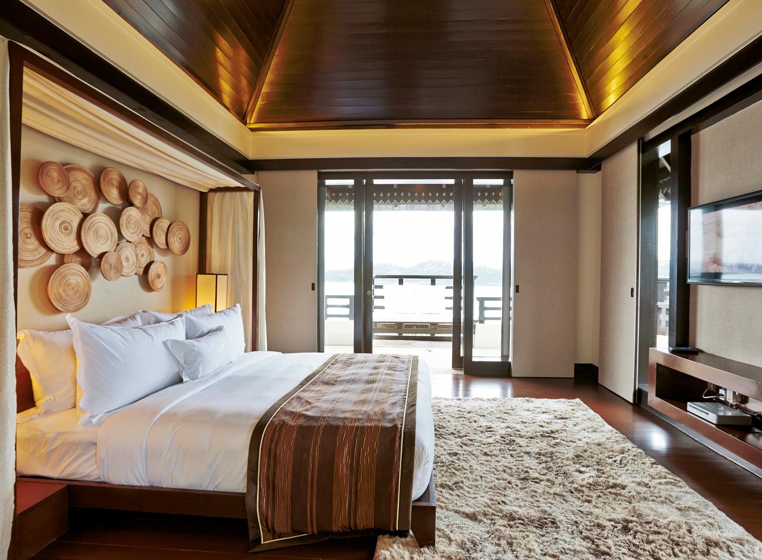 Rooms: Pulau Gaya Island Accommodation